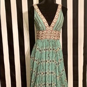 🔥🔥GORGEOUS floor length BCBG vintage dress 🔥🔥